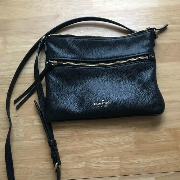 5231ca54c94f kate spade Handbags - Kate Spade Jackson Street Gabriele Crossbody Black